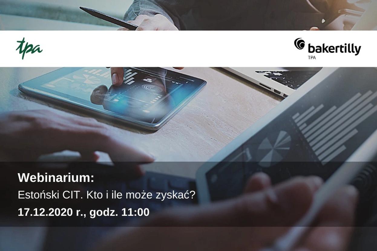 Estoński CIT. Kto i ile może zyskać?