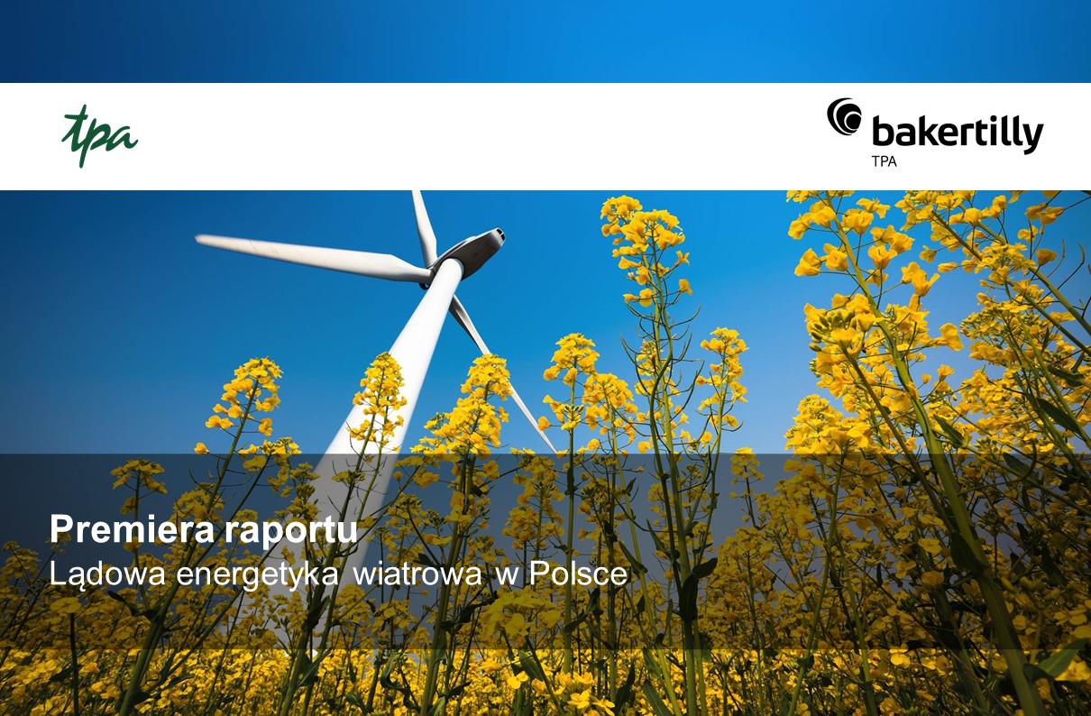 Premiera 8. edycji raportu: Lądowa energetyka wiatrowa w Polsce
